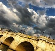 #parís #pontneuf #france #francia #cielo #ciel #sky #nubes #nuages #clouds