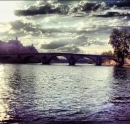 #paris #sena #seine #cielo #ciel #sky #nubes #nuages #clouds