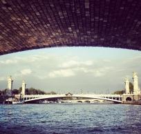 #paris #sena #seine #alexandreiii #ciel #cielo #sky #clouds #nubes #nuages