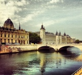 #paris #Conciergerie #sena #seine €ciel #cielo #sky #clouds #nubes #nuages