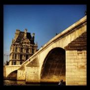 #paris #louvre #seine #sena