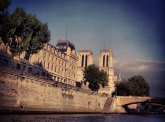 #paris #notredame #seine #sena #ciel #cielo #sky #nubes #nuages #clouds