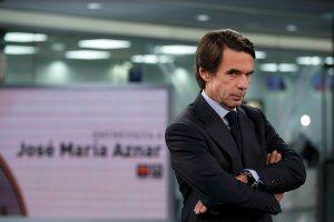 Jose Maria Aznar, este miércoles en Antena 3 | Gonzalo Arroyo