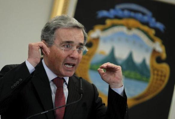 El ex presidente de Colombia, Álvaro Uribe. REUTERS